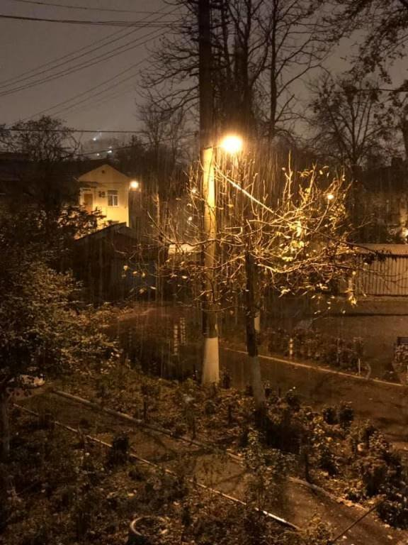 С первым снегом, Черноморск!, фото-31