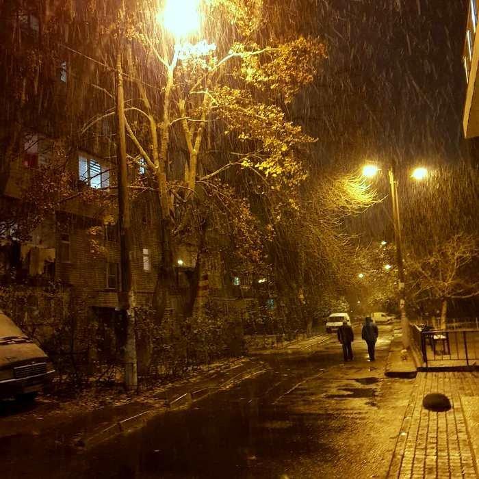 С первым снегом, Черноморск!, фото-9