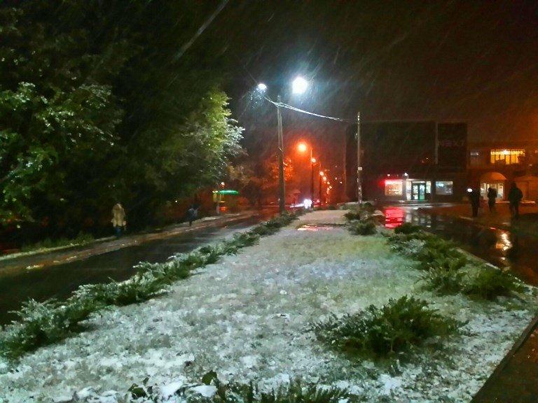 С первым снегом, Черноморск!, фото-6