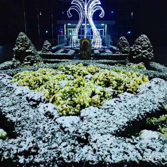 С первым снегом, Черноморск!, фото-8