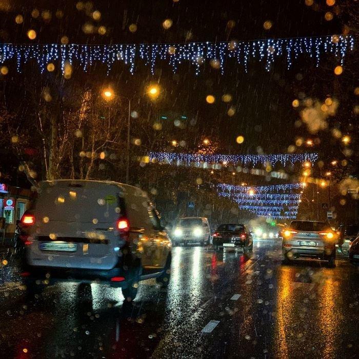 С первым снегом, Черноморск!, фото-2