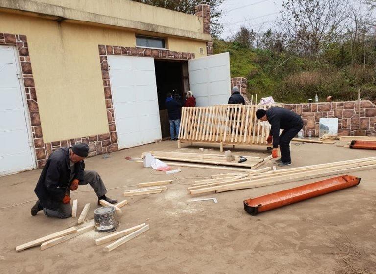 Спасенные в Черноморске овцы получили новый дом под Одессой, фото-5