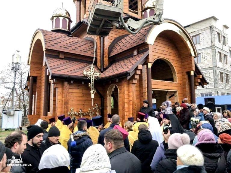 Над Черноморском засияли купола нового храма, фото-6