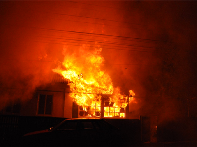 В пожаре под Черноморском погибла 77-летняя женщина, фото-1