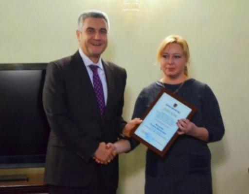 Двум молодым черноморцам вручена Премия областного совета, фото-2