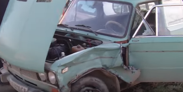 Столкновение двух машин: страшная авария под Черноморском (видео), фото-4