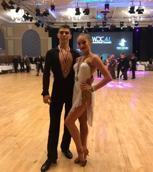 Париж: 15-летняя школьница из Черноморска в составе сборной Украины стала чемпионкой мира по бальным танцам, фото-1