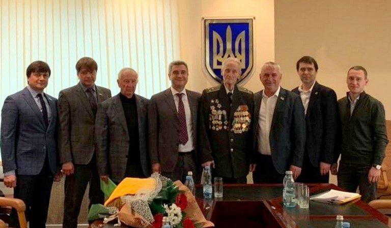 Почётный гражданин Черноморска, ветеран войны Александр Касьяненко стал Почётным гражданином Одесской области, фото-2