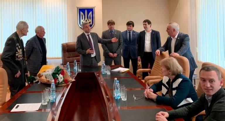 Почётный гражданин Черноморска, ветеран войны Александр Касьяненко стал Почётным гражданином Одесской области, фото-8