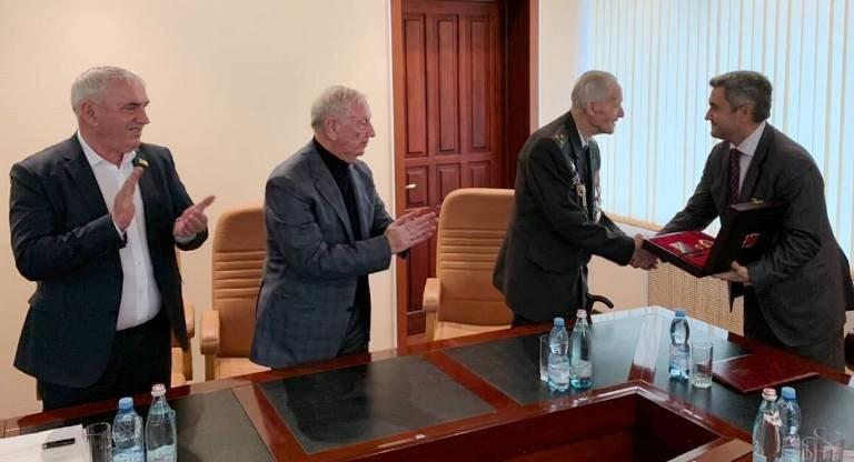 Почётный гражданин Черноморска, ветеран войны Александр Касьяненко стал Почётным гражданином Одесской области, фото-9