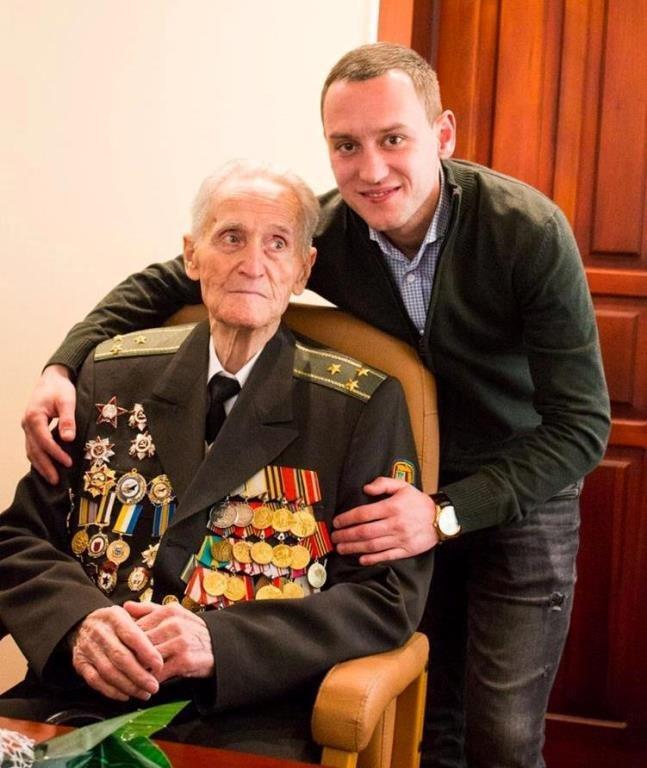 Почётный гражданин Черноморска, ветеран войны Александр Касьяненко стал Почётным гражданином Одесской области, фото-6