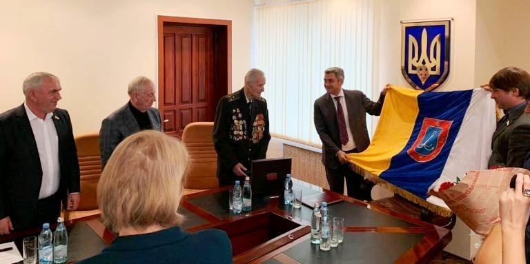 Почётный гражданин Черноморска, ветеран войны Александр Касьяненко стал Почётным гражданином Одесской области, фото-5