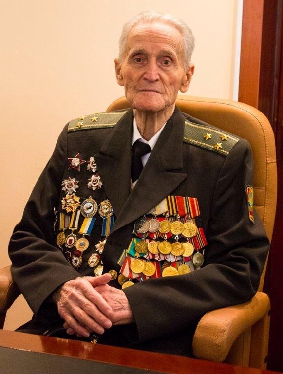 Почётный гражданин Черноморска, ветеран войны Александр Касьяненко стал Почётным гражданином Одесской области, фото-1