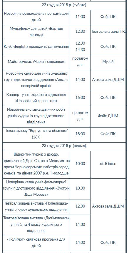Новый год в Черноморске: программа праздников и событий на каждый день (+видео), фото-14
