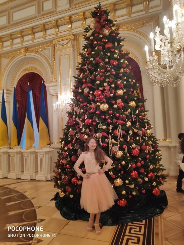 Талантливые дети Черноморска отметили День Святого Николая на президентской ёлке в Киеве, фото-5