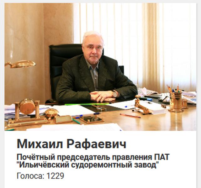 Итоги голосования: кто самый влиятельный человек в Черноморске, фото-2