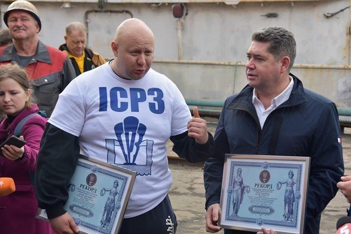 Олег Тягнизуб получил подтверждение из Лондона о рекорде, установленном в Черноморске , фото-3