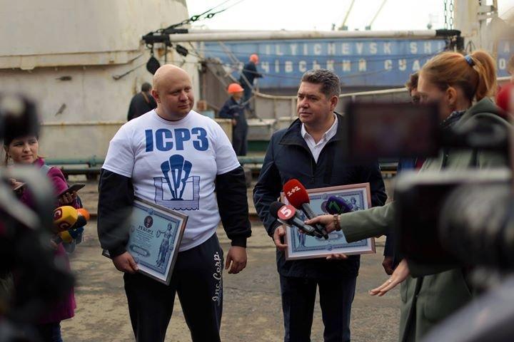 Олег Тягнизуб получил подтверждение из Лондона о рекорде, установленном в Черноморске , фото-5