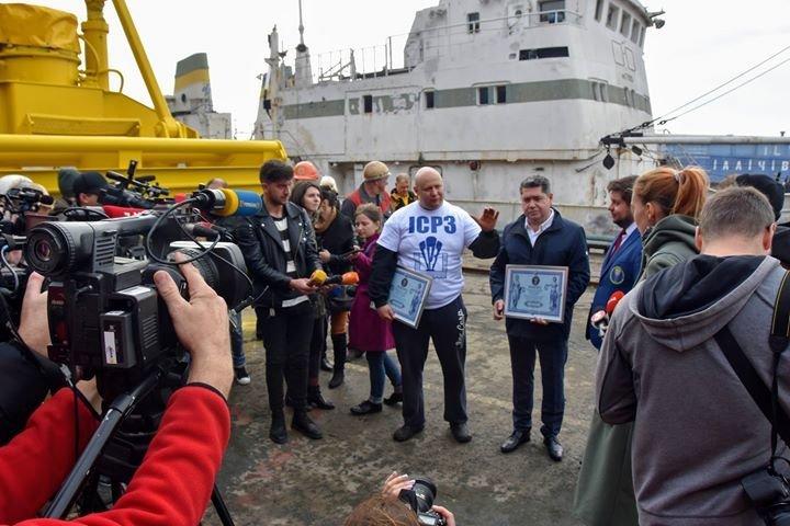 Олег Тягнизуб получил подтверждение из Лондона о рекорде, установленном в Черноморске , фото-2