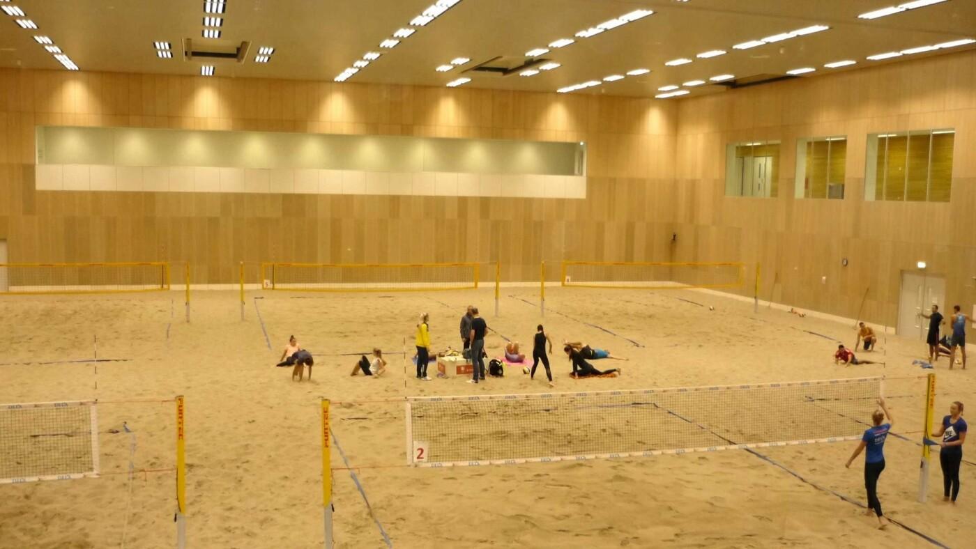 Волейболистки Черноморской ДЮСШ попали на тренировку Национальной сборной в Гааге, фото-8
