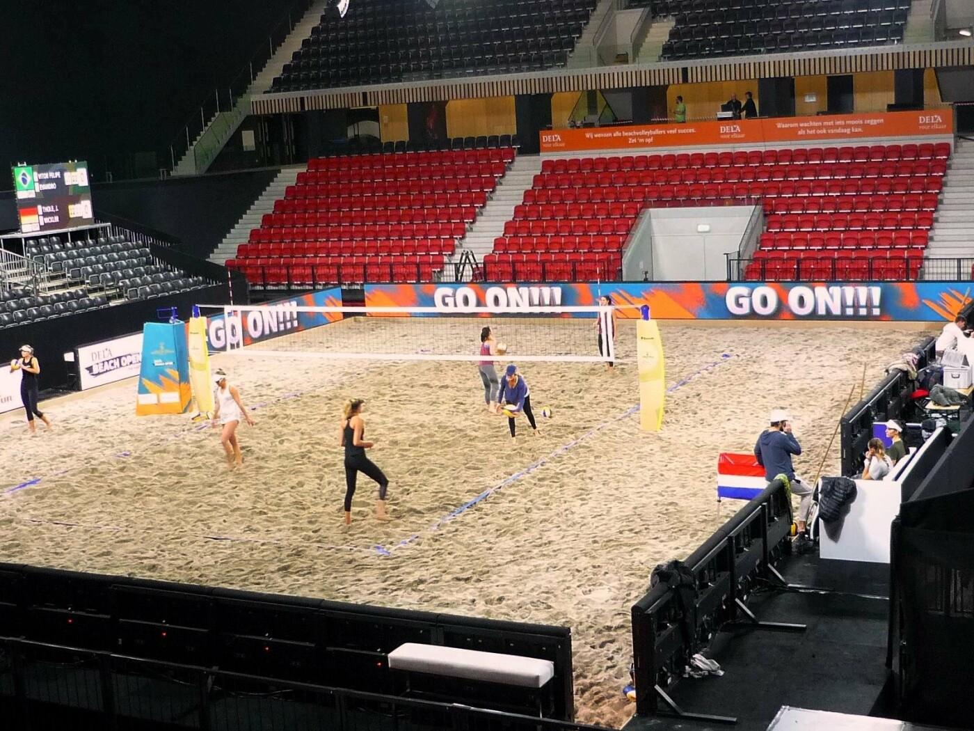 Волейболистки Черноморской ДЮСШ попали на тренировку Национальной сборной в Гааге, фото-7