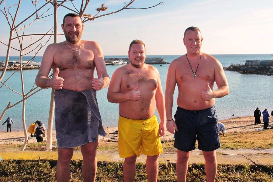 В Черноморске прошли крещенские купания, фото-5