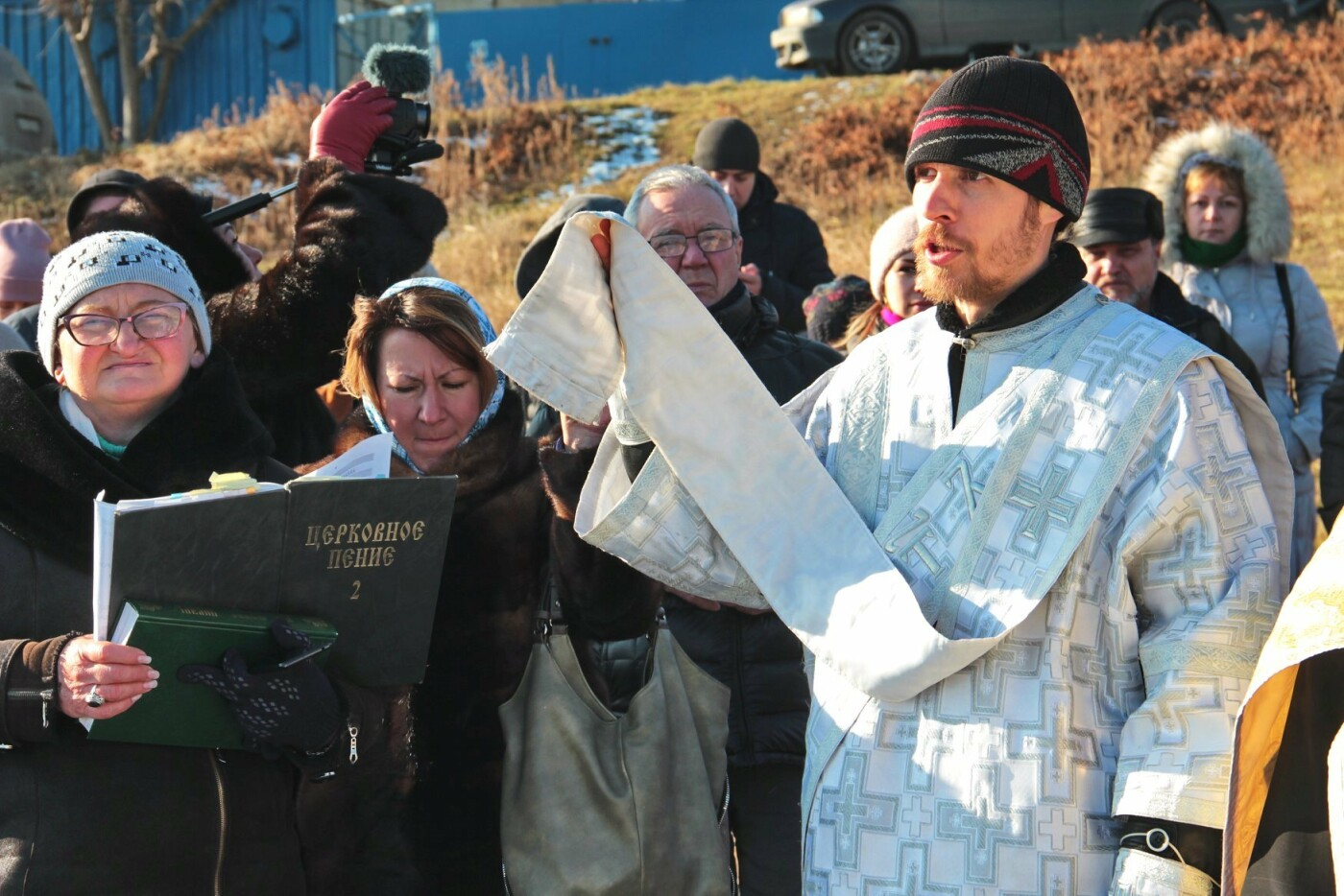 В Черноморске прошли крещенские купания, фото-3