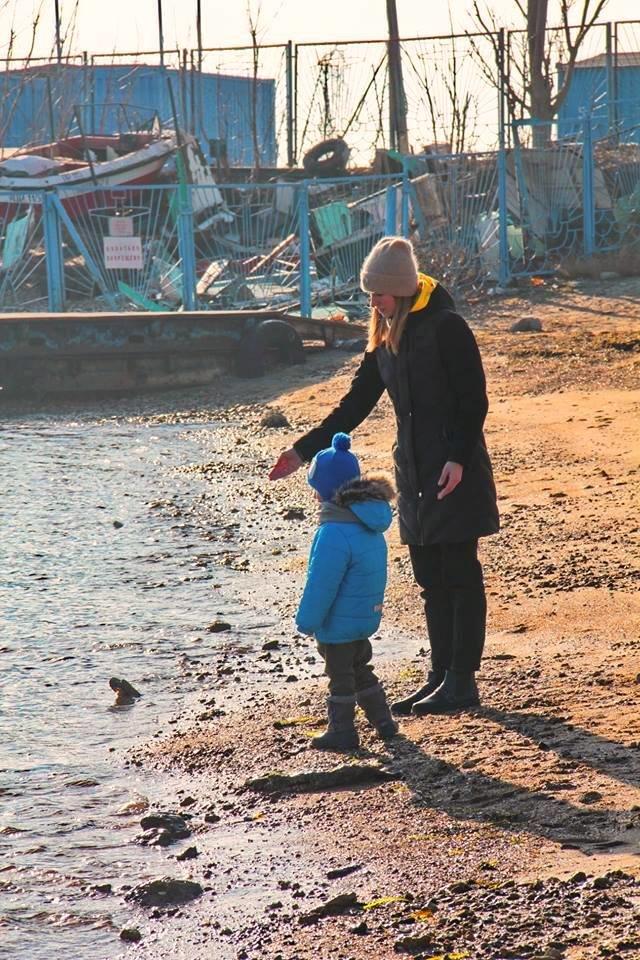В Черноморске прошли крещенские купания, фото-9