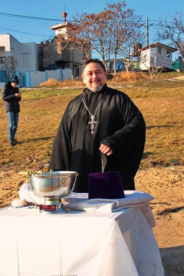 В Черноморске прошли крещенские купания, фото-10