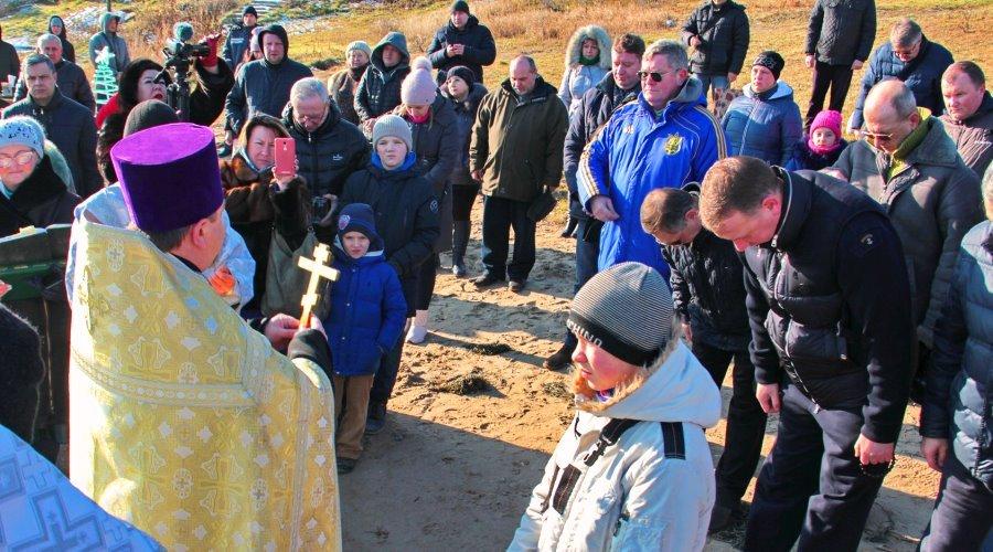 В Черноморске прошли крещенские купания, фото-11