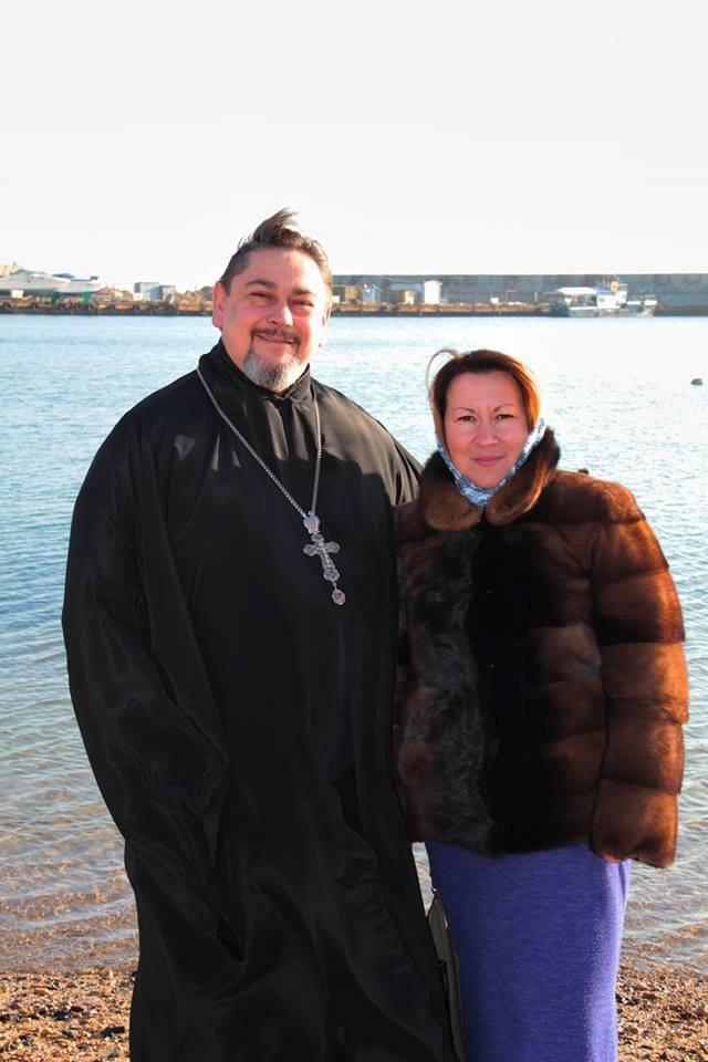 В Черноморске прошли крещенские купания, фото-15