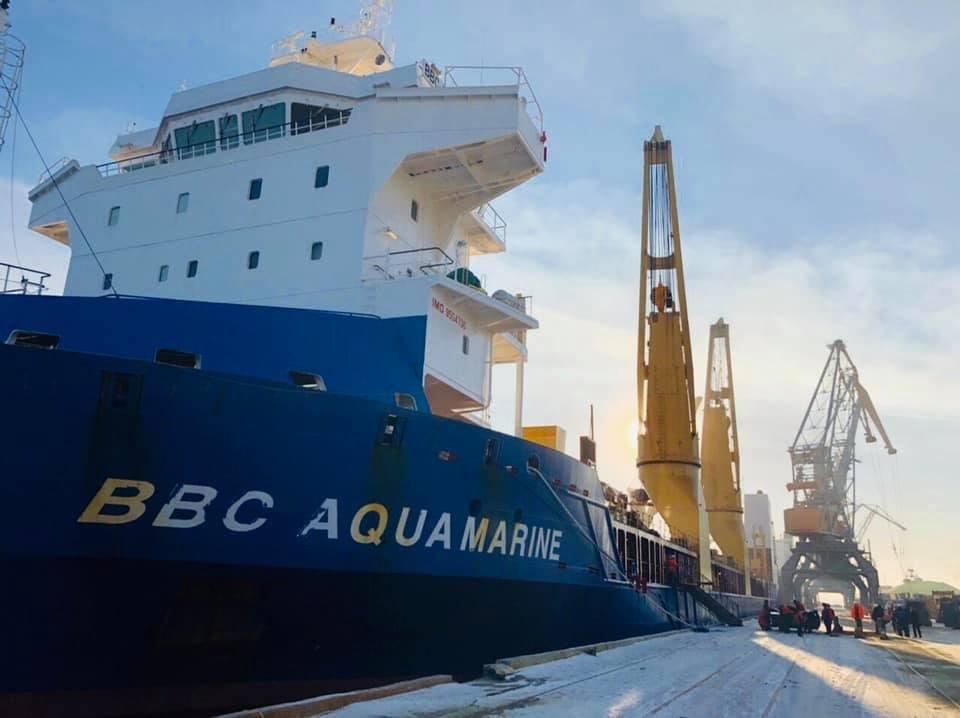 В Черноморск прибыли 5 локомотивов из США  (фото), фото-3