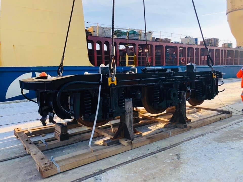 В Черноморск прибыли 5 локомотивов из США  (фото), фото-1