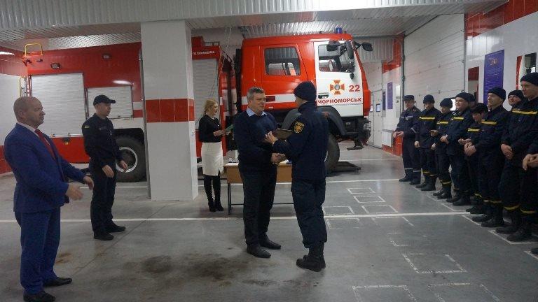 В Черноморске награждали спасателей в честь 45-летнего юбилея  создания городской службы, фото-2