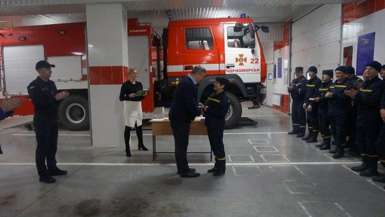 В Черноморске награждали спасателей в честь 45-летнего юбилея  создания городской службы, фото-3