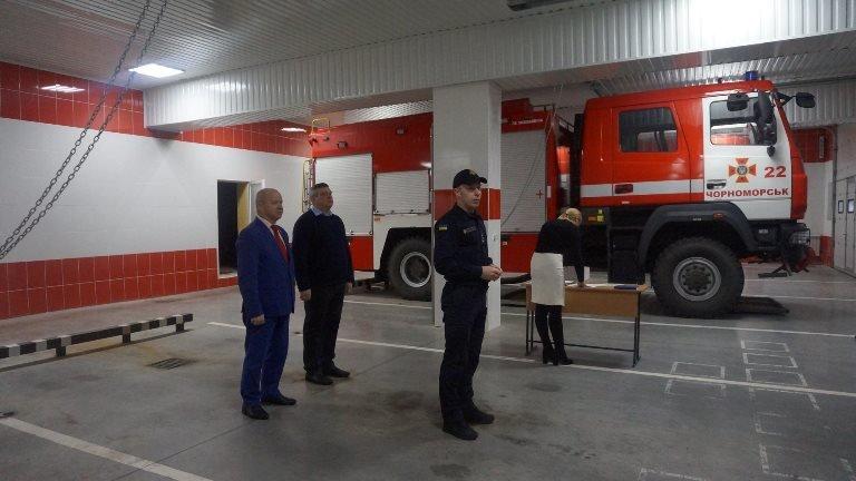 В Черноморске награждали спасателей в честь 45-летнего юбилея  создания городской службы, фото-1