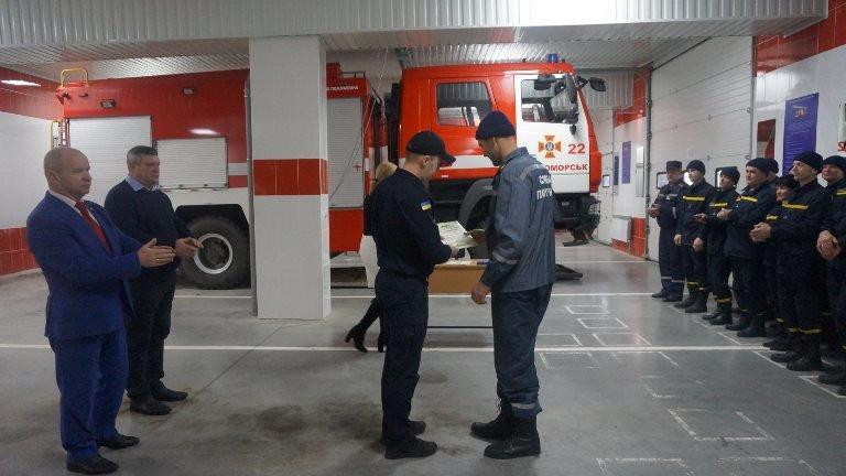 В Черноморске награждали спасателей в честь 45-летнего юбилея  создания городской службы, фото-7
