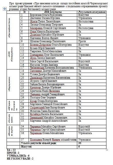 Сергей Червачев подал иск об обжаловании решения Черноморского горсовета относительно изменений состава депутатских комиссий , фото-1