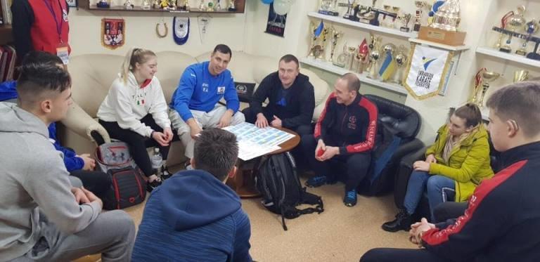 В Черноморске молодёжная сборная Украины по карате готовится к чемпионату в Дании, фото-1
