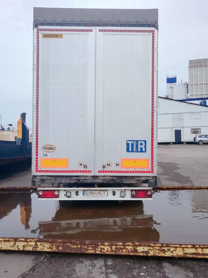 Черноморские пограничники выявили в порту Черноморск похищенный в Литве грузовой прицеп, фото-2