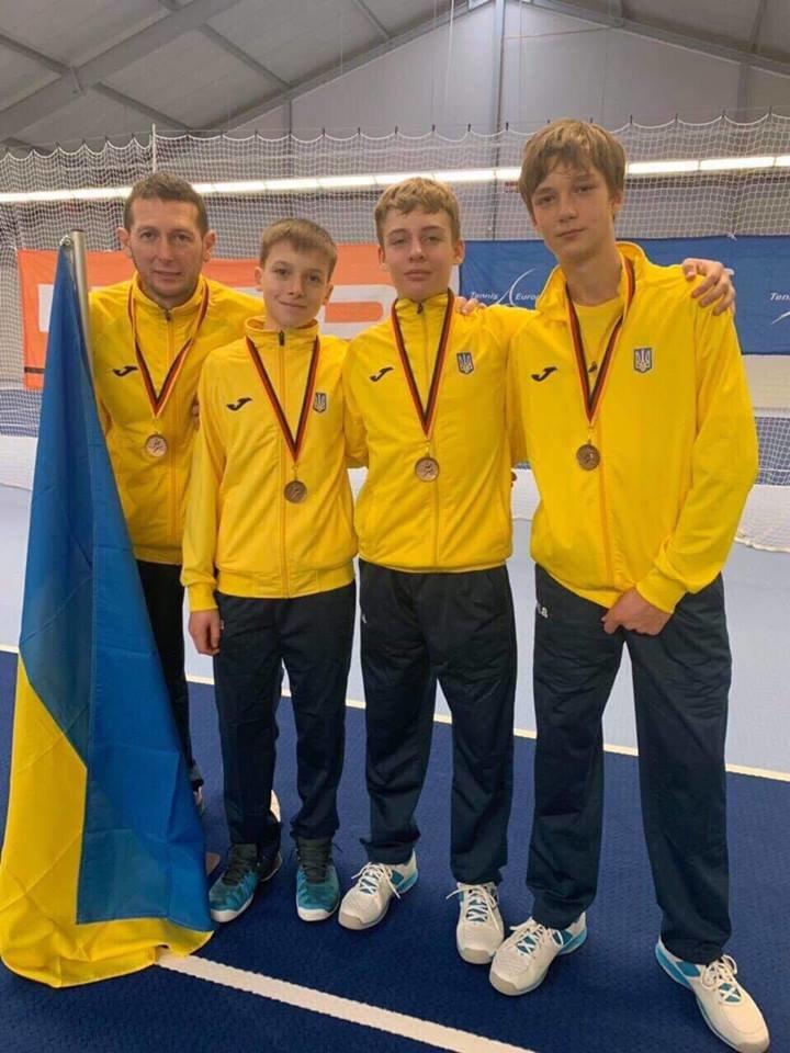 Сборная Украины по теннису заняла 3 место в Зимнем Кубке Европы , фото-3