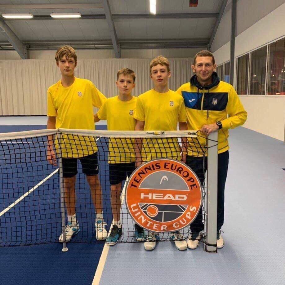 Сборная Украины по теннису заняла 3 место в Зимнем Кубке Европы , фото-2
