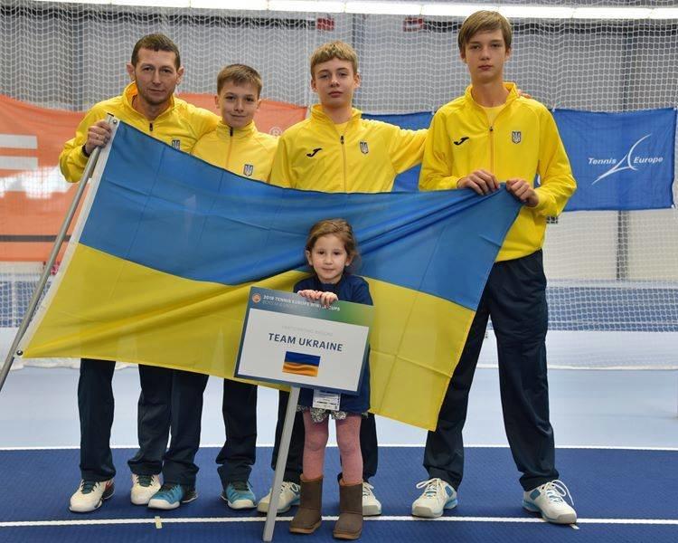 Сборная Украины по теннису заняла 3 место в Зимнем Кубке Европы , фото-1