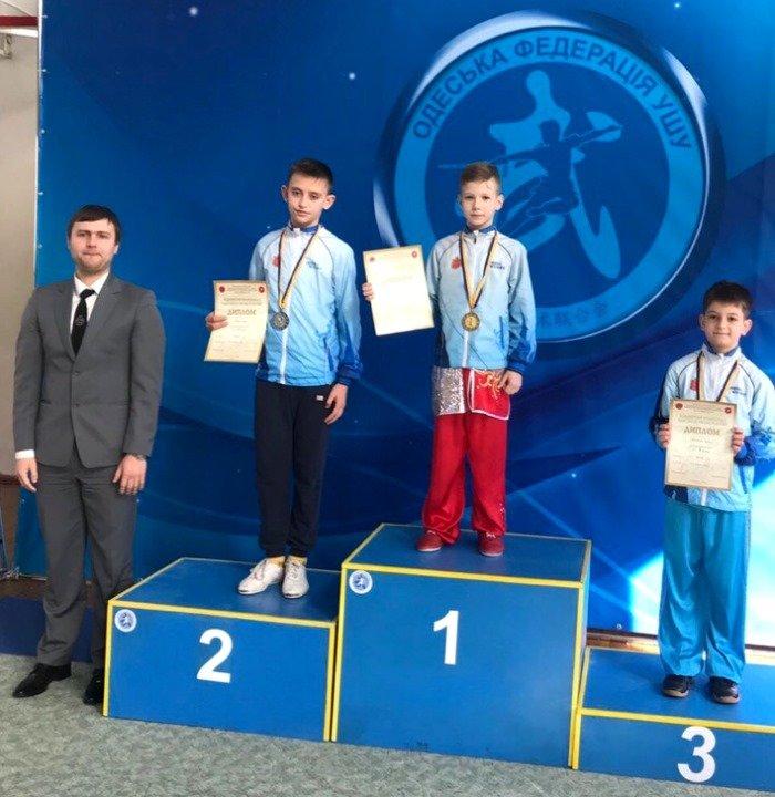 Юные черноморцы показали отличный результат на Чемпионате по ушу, фото-1