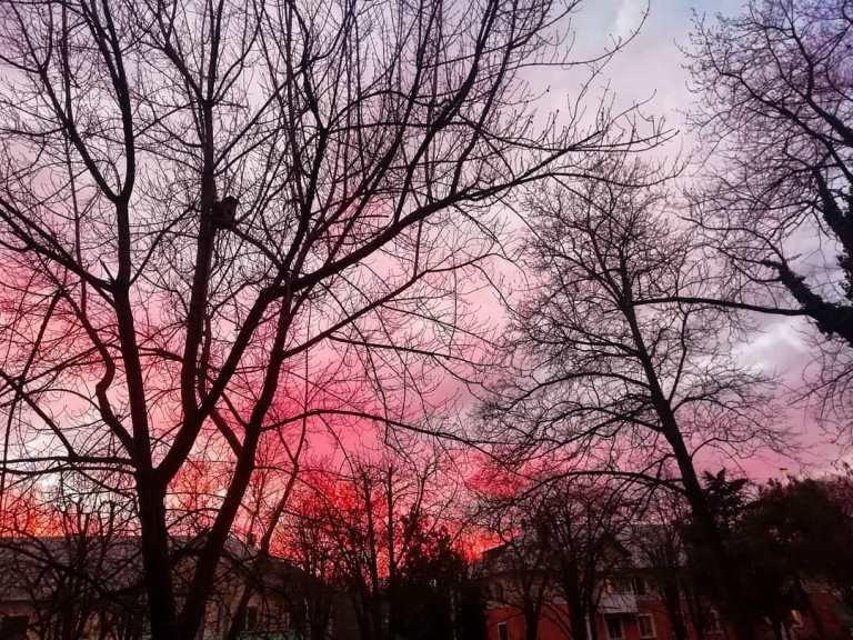 Закат накануне весны: жители Черноморска поделились завораживающими фотографиями, фото-13