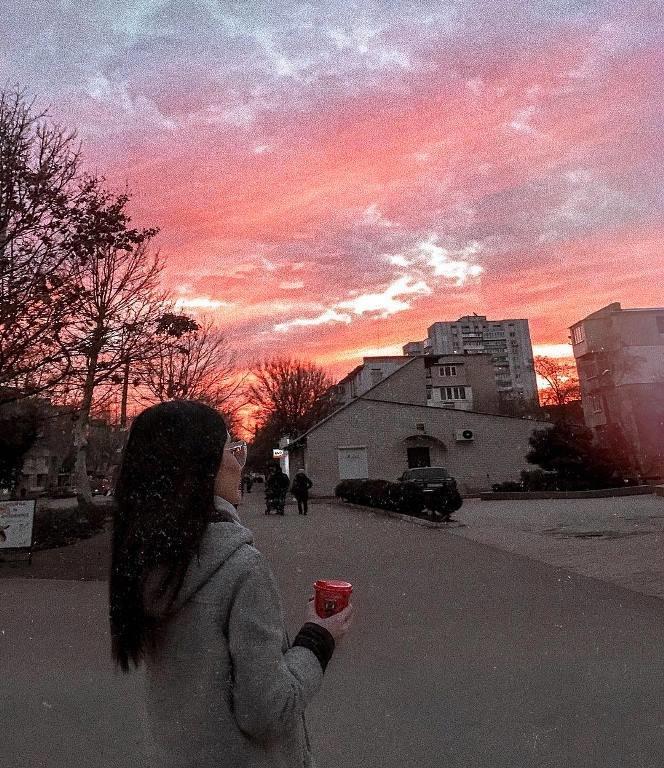 Закат накануне весны: жители Черноморска поделились завораживающими фотографиями, фото-4