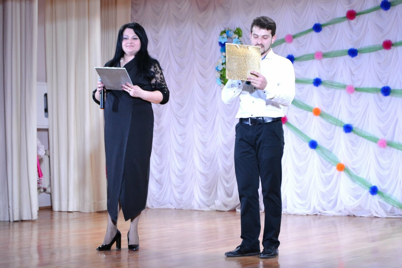 В селе Малодолинское поздравили женщин с 8 Марта, фото-9