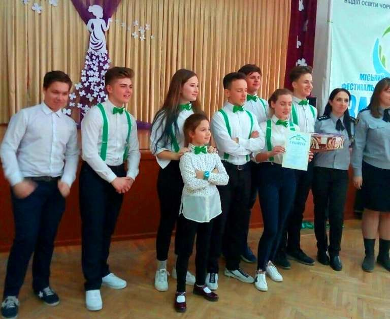 Школьники Черноморска – за здоровую нацию, фото-2