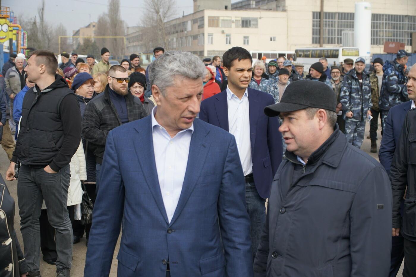 Кандидат в Президенты Украины от оппозиционных сил Юрий Бойко встретился с жителями Черноморска, фото-5