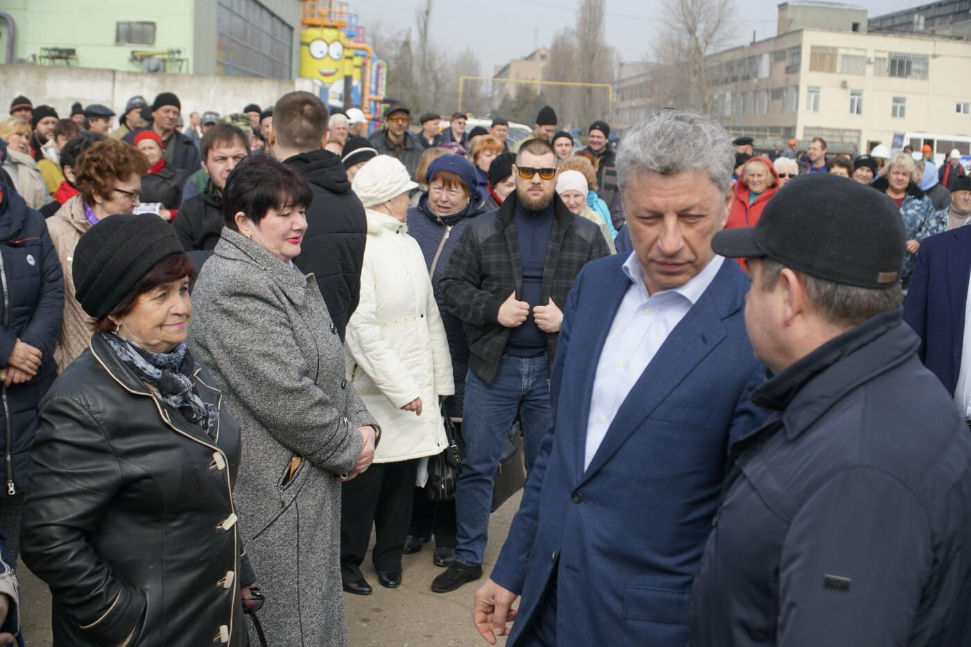 Кандидат в Президенты Украины от оппозиционных сил Юрий Бойко встретился с жителями Черноморска, фото-8